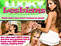 Lucky Lesbians - All in stunning 16x9 WIDESCREEN ratio in sizes up to 1280 x 720 resolution!